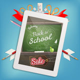 Back to school Sale. EPS 10 Royalty Free Stock Photography