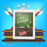 Back to school Sale. EPS 10 Royalty Free Stock Images