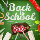 Back to school Sale. EPS 10 Stock Image
