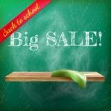 Back to school sale. plus EPS10 Stock Photo