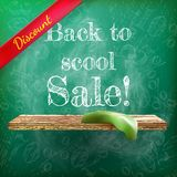 Back to school sale. plus EPS10 Stock Photos