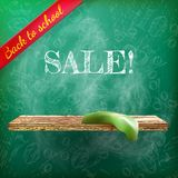 Back to school sale. plus EPS10 Royalty Free Stock Image