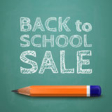 Back to school sale poster Royalty Free Stock Photo