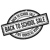 Back To School Sale rubber stamp Royalty Free Stock Images