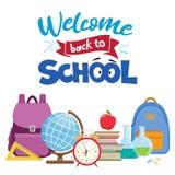 Back to school sale Stock Photo