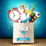 Back to school sale Royalty Free Stock Photography