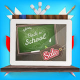Back to school Sale Royalty Free Stock Photos