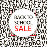 Back to school Sale. Stock Image