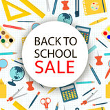 Back to school Sale. Royalty Free Stock Photography