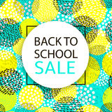 Back to school Sale. Royalty Free Stock Photo