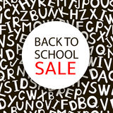 Back to school Sale Royalty Free Stock Image