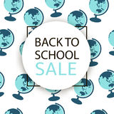 Back to school Sale. Royalty Free Stock Images