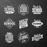Back to School Sale Stock Image