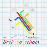 Back to school, school design Royalty Free Stock Photo