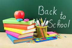 Back to school. School supplies. Royalty Free Stock Image
