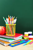 Back to school. School supplies. Stock Photography