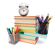 Back to school. School tools. Stock Photo
