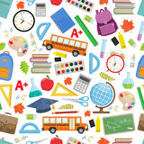 Back to school seamless Royalty Free Stock Photo