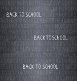Back to school – seamless pattern Stock Image