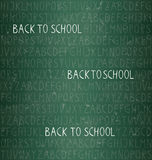 Back to school – seamless pattern Royalty Free Stock Photography