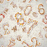 Back to school. Seamless pattern. Vector illustration. Stock Image