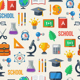 Back to school seamless pattern. Vector Stock Photography