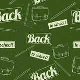 Back to school seamless pattern. Stock Photos