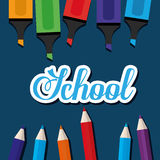 Back to school season Stock Image