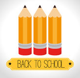 Back to school season. Illustration graphic design Royalty Free Stock Image