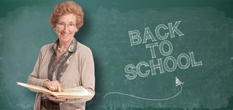 Back to school senior Stock Photo