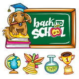 Back to school series royalty free illustration