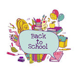 Back to School Set Stock Image