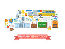 Back to School Set Royalty Free Stock Image