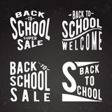Back to school set Royalty Free Stock Photos