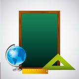 Back to school set supplies. Vector illustration design royalty free illustration