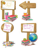 Back to school sign Stock Photo