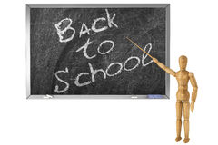 Back to school sign Royalty Free Stock Photo