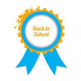 Back to school sign Royalty Free Stock Image