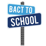 Back to school. Signal on white background Stock Photography
