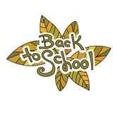 Back to School Sketchy Doodles Royalty Free Stock Images