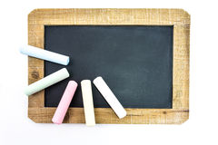 Back to school slate Stock Photo