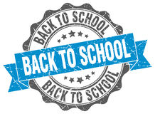 Back to school stamp Royalty Free Stock Photography