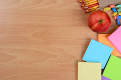 Back to School Still Life Royalty Free Stock Photos