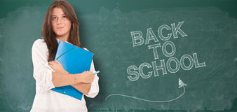 Back to school, student Stock Image