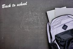 Back To School. A studio conceptual photo of back to school Royalty Free Stock Photos