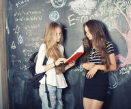 Back to school after summer vacations Royalty Free Stock Photos
