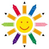 Back To School Sunshine Stock Photography