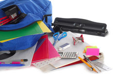 Back to school supplies Royalty Free Stock Photography