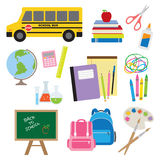Back To School Supplies Royalty Free Stock Photo