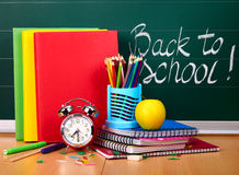 Back to school supplies. Stock Photography